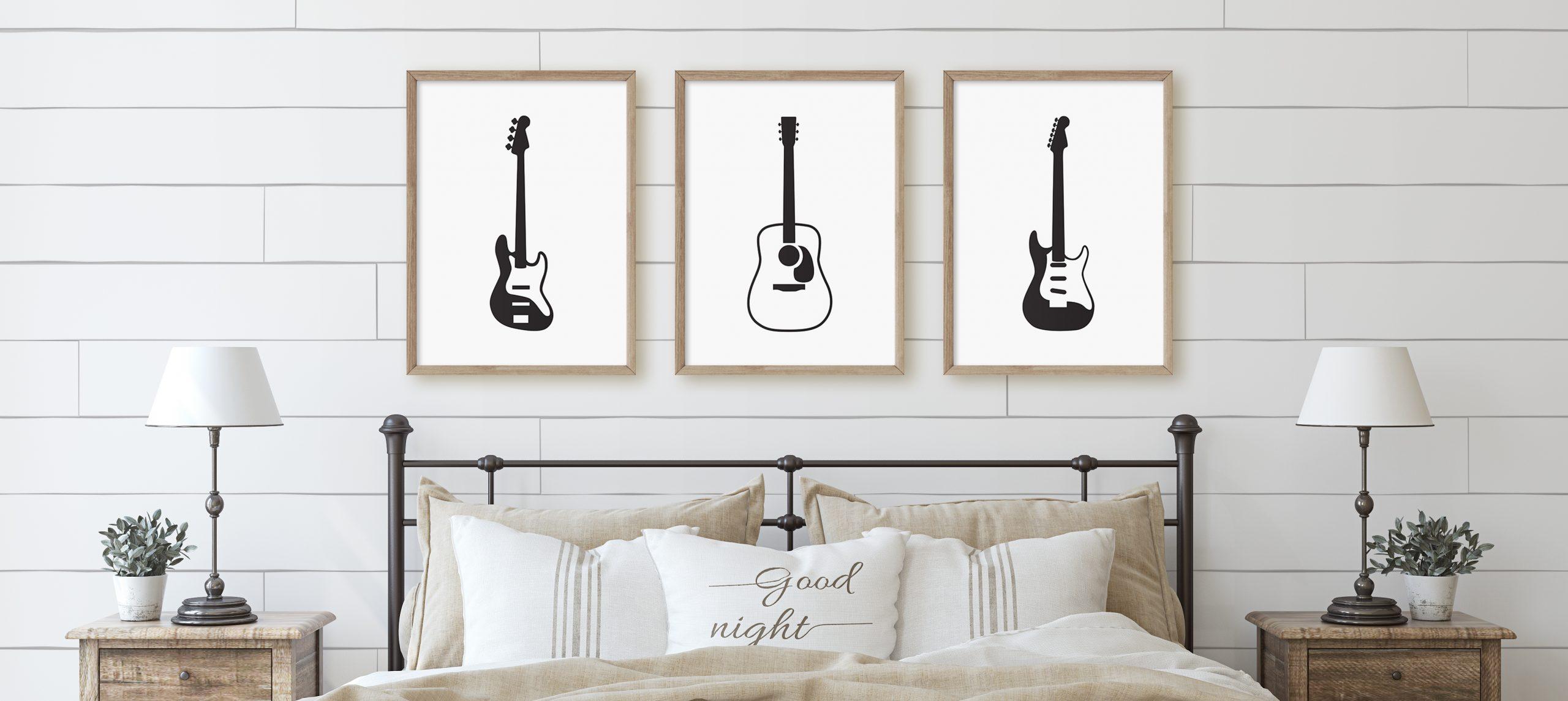 Guitar Printable art