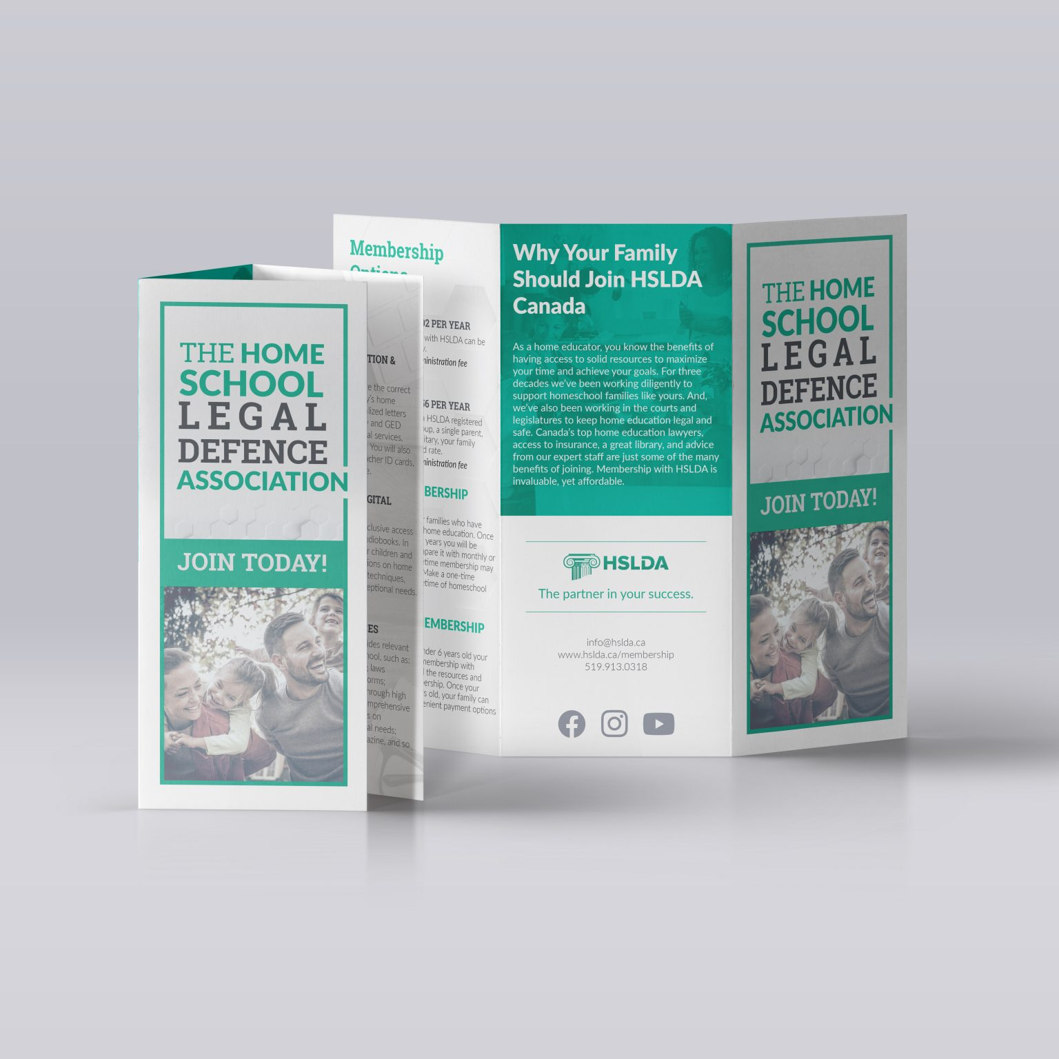 Graphic Design Brochure mockup