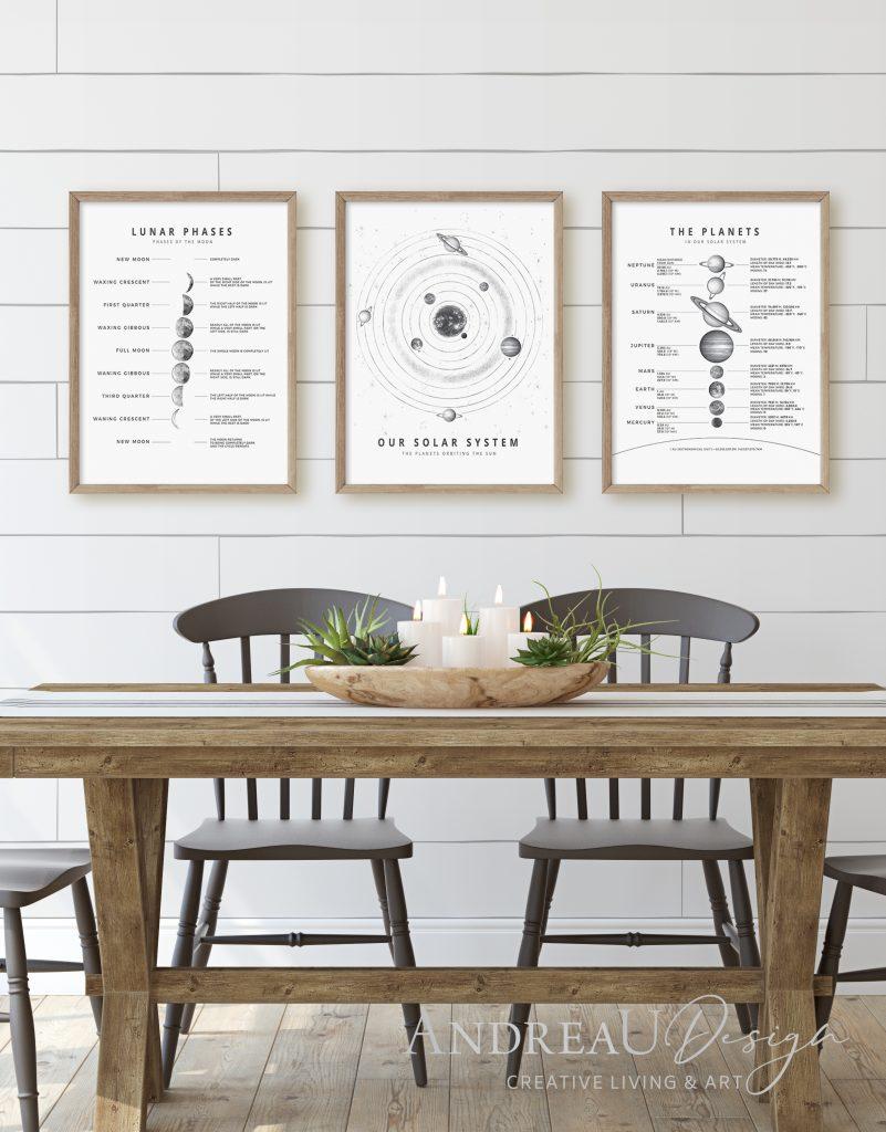 Solar System Printable Art